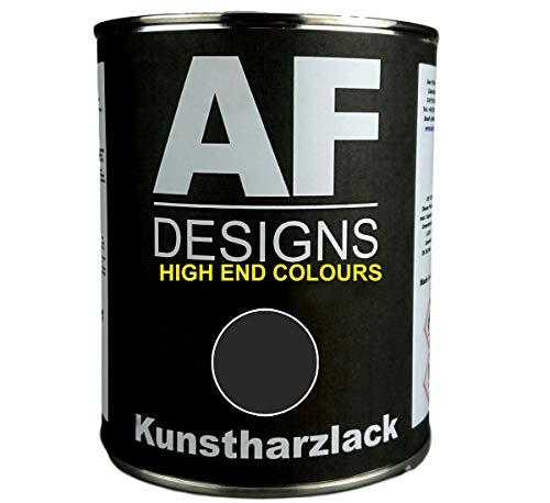 Alex Flittner Designs 1 Liter Kunstharzlack für DEUTZ Chassis SCHWARZ LKW NFZ Lack Landmaschine seidenmatt