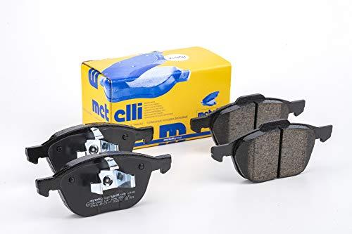 metelligroup 22-0534-0 Bremsbeläge, Made in Italy, Ersatzteile für Autos, ECE R90-zertifiziert, Kupferfrei