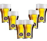 Tennent's Super - SET da 6 Bicchieri di Birra Tennent's da 200 Ml
