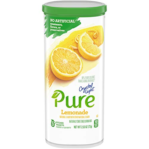 Crystal Light Pure Lemonade Drink Mix (5 Pitcher Packets)