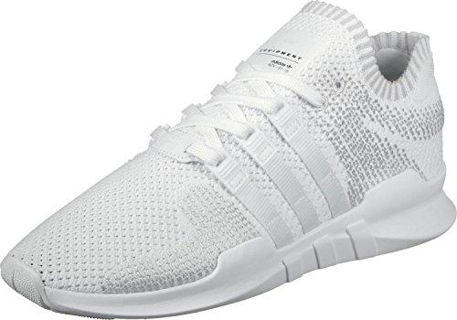 adidas Men's EQT Support ADV Primeknit Trainers, White (Footwear White/Footwear White/Sub Green), 10.5 UK 45 1/3 EU