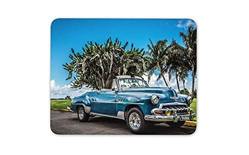 N\A Alfombrilla de ratón Classic American Car Mouse Pad - Miami Dade Cuba Gift Mousepad para portátiles Computadoras de Escritorio Suministros de Oficina Alfombrilla de ratón