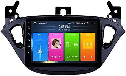 LFEWOU Navigazione GPS Doppio DIN Autoradio SAT NAV Android Car Stereo Multimedia Video Ricevitore Lettore unità di Testa per Opel Corsa 2015-2019 / Adam 2013-2016,4core 4g WiFi 1+32