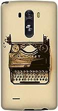 Stylizedd LG G3 Premium Slim Snap case cover Matte Finish - Typewriter