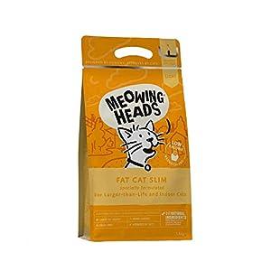 Meowing Heads Katzenfutter Trocken - Ohne künstliche Geschmacksverstärker, Verschiedene Geschmacksrichtungen und Größen 1