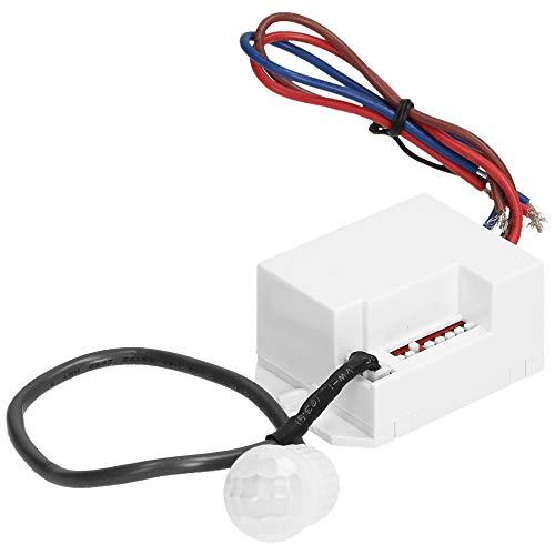 ORNO OR-CR-211/12-24V Mini Bewegungsmelder 360 Grad LED Kompatibel 12v-24v Lichtstärke Anpassung und Zeiteinstellung