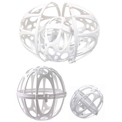 フェリモア ランドリーネット ブラジャーボール 洗濯ネット ブラ カップ 型崩れ防止 プラスチック製 (2個セット)