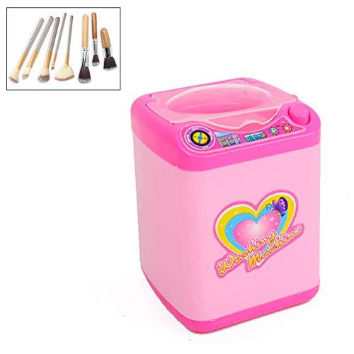 Kosmetik Reinigung, Elektronische Mini Waschmaschine, Schwamm, Puderquaste und Make-up Pinselreiniger Gerät