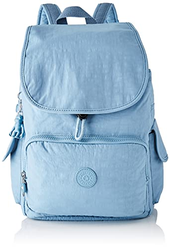Kipling City Pack, Mochila, Bolso para Mujer, Niebla azul, One Size