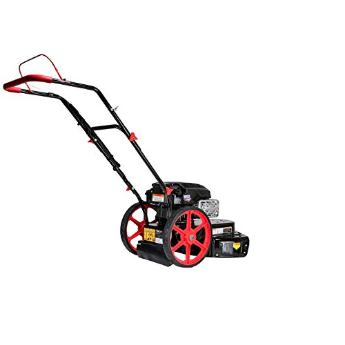 Pulsar Products PPG1022H Walk-Behind Wheeled Line Trimmer w/Briggs and Stratton Engine, Black/White