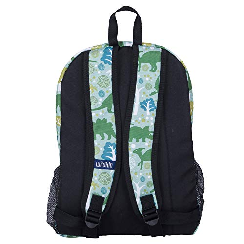 Wildkin Kids 16 Inch Backpack for Boys and Girls, Ideal Size for Kindergarten, Elementary, and Middle School, Perfect for School and Travel,600 Denier Polyester,BPA-free,Olive Kids(Dinomite Dinosaurs)