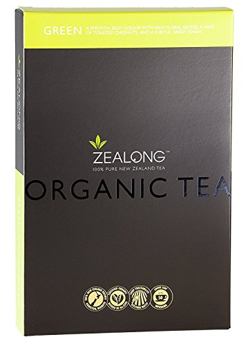 Organic Green Tea | Hand Picked Whole Loose Leaf | Grown in New Zealand by Zealong, Creators of The World's Purest Tea