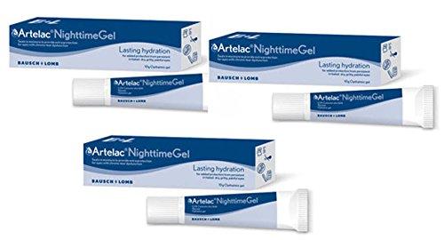 Artelac Nightime Gel 3 x 10 g Tuben
