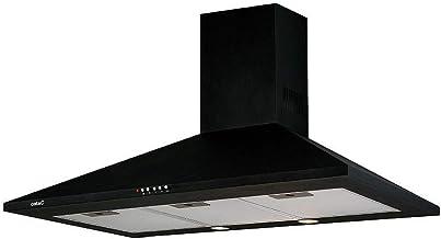 CATA OMEGA 900 BK 645 m³/h De pared Negro C - Campana (645 m³/h, Canalizado/Recirculación, D, F, B, 71,8 dB)