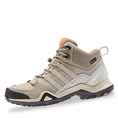 adidas Terrex Swift R2 Mid GTX W Trace Khaki Clear Brown Glow Blue 39