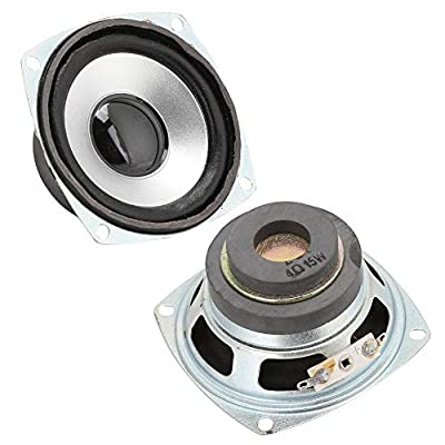 FAMKIT 3-inch 4Ω 15W Car Full Frequency Speakers with Super Deep Bass Sound HiFi Speaker Full Range Dual Magnetic Loudspeaker Audio Speaker for DIY Desktop Speaker from FAMKIT