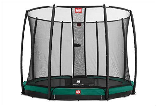 BERG Trampoline Inground Champion ronde 270 met veiligheidsbehuizing Net Deluxe | Premium trampoline, kindertrampoline, langere levensduur, spring hoger met TwinSpring en Airflow
