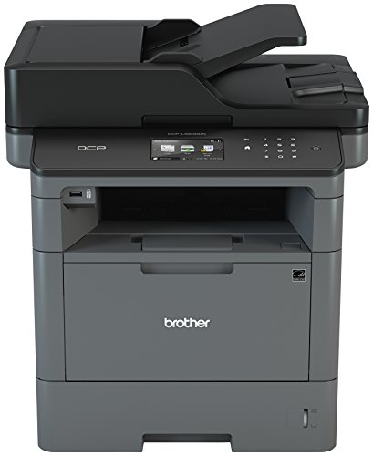 Brother Monochrome Laser Printer, Multifunction Printer and Copier, DCP-L5500DN, Flexible Network Connectivity, Duplex Printing, Mobile Printing & Scanning, Amazon Dash Replenishment Ready