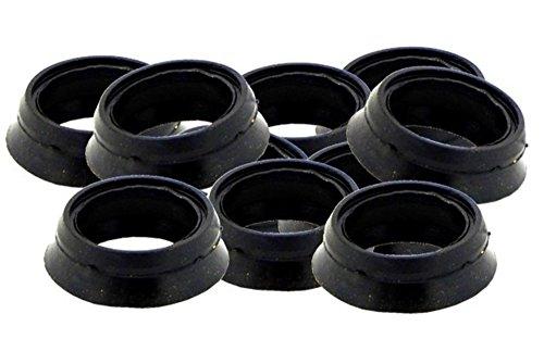 10 Stück Gummidichtung für Schnellkupplung (geeignet für alle Größen, System GEKA)