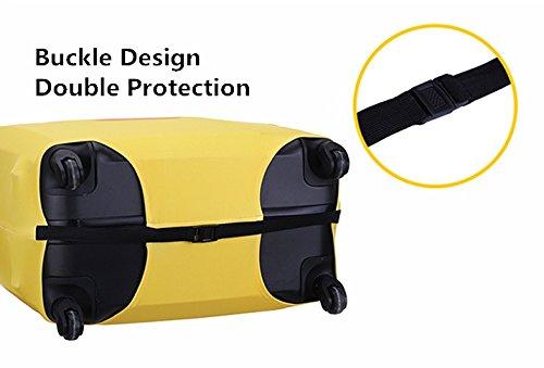 Trippnerスーツケースカバーキャリーカバー伸縮素材保護汚れ傷防止キズから保護保護カバー(M,ブラック2)