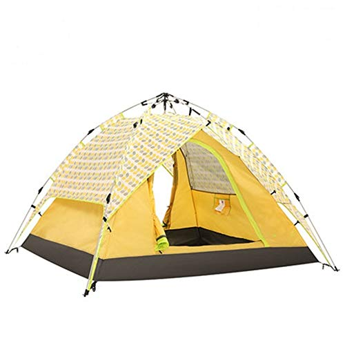 YAOHONG Outdoor tents, tents for outdoor camping thickened, ultra-light automatic equipment, outdoor camping tents, tent rain Travel tent (Size : B)