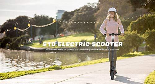 M MEGAWHEELS S10 Monopattino Elettrico Pieghevole Versione aggiornata Batteria Grande capacità per distanze più Lunghe, Ideale per Adulti