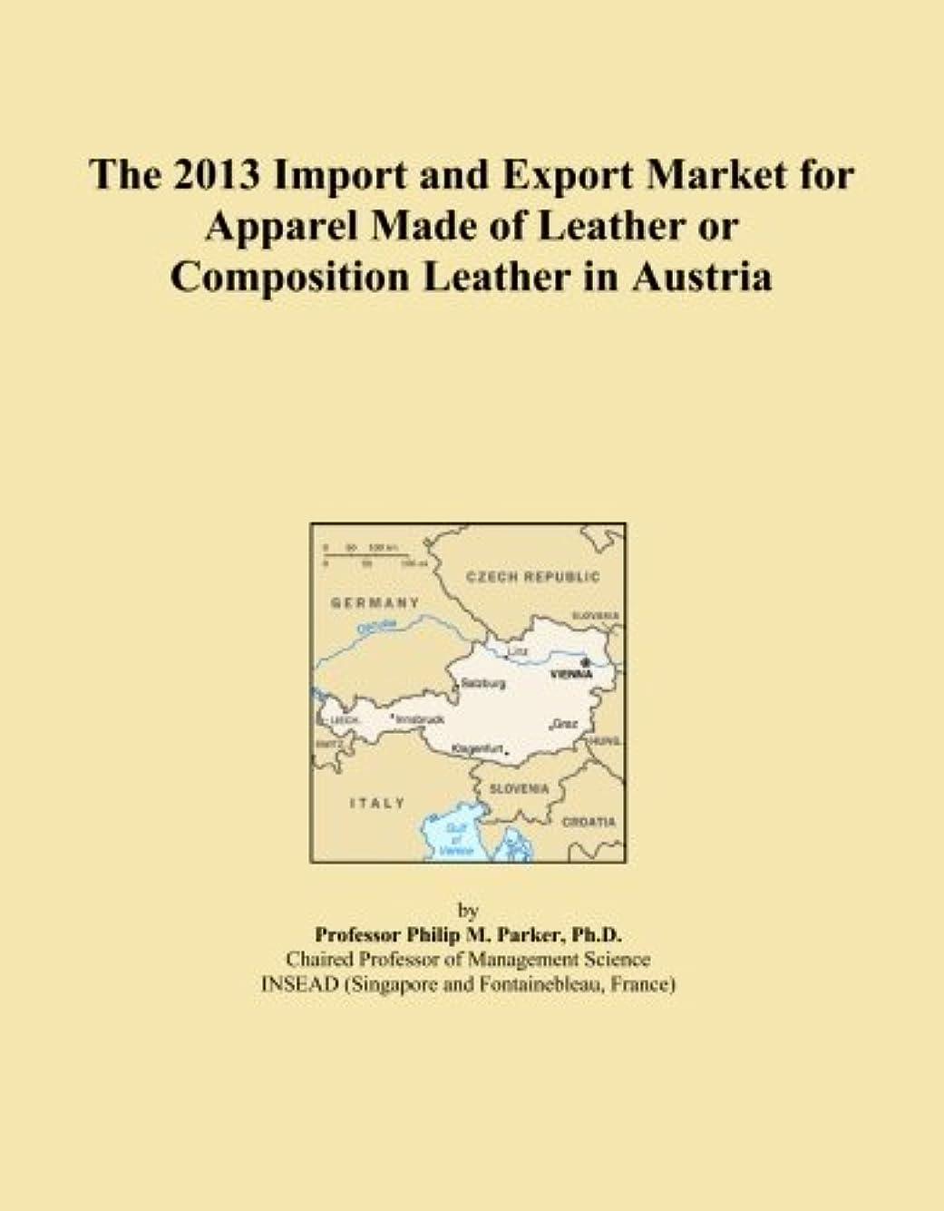 カテゴリー定常処分したThe 2013 Import and Export Market for Apparel Made of Leather or Composition Leather in Austria