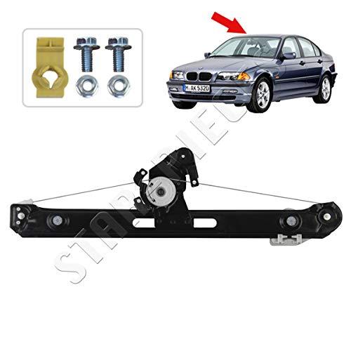 STARKIT PERFORMANCE Elevalunas eléctrico trasero derecho para BMW Serie 3 E46 de...