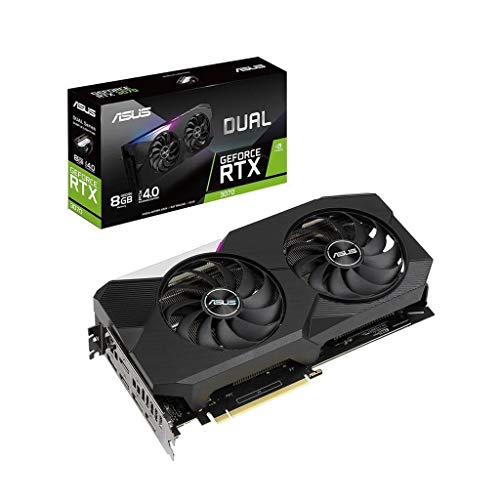 ASUS Dual GeForce RTX 3070 8 GB OC Edition Gaming Scheda grafica (GDDR6, PCIe 4.0, 2x HDMI 2.1, 3x DisplayPort 1.4a, DUAL-RTX3070-8G)