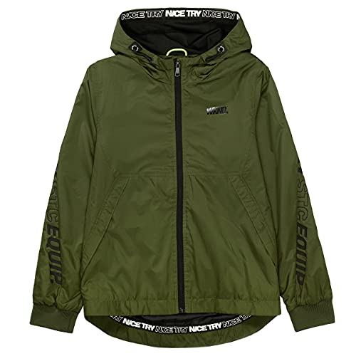 Staccato Outdoorjacke mit Wording - Olive