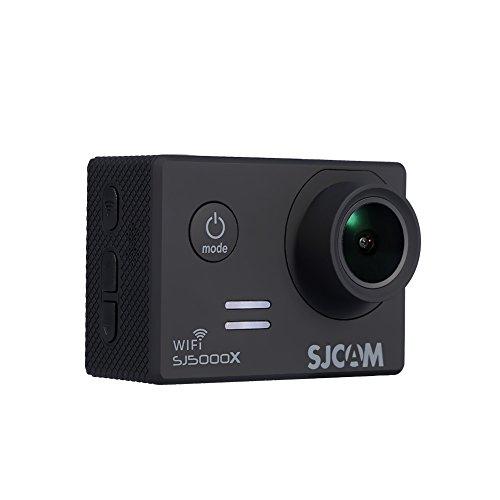 EBTOOLS Action Camera Ultra HD 4K 12M 2 inch scherm Wifi Sport Cam instelbare kijkhoek onderwater 30m met waterdichte behuizing en meer accessoireskits default zwart
