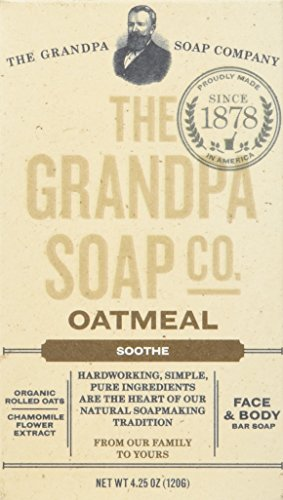 Grandpa's Soap Co. - Face & Body Bar Soap Oatmeal - 4,25 oz.