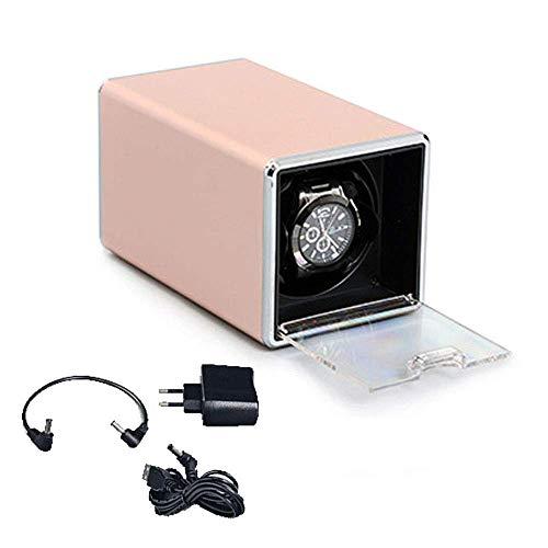 LULUTING De Cuerda automática Caja de Reloj, Caja de Reloj mecánico automático, Shake Tabla de Dispositivos, Reloj de Pulsera Cadena de Caja, 2 maquinaria automática de epítopos