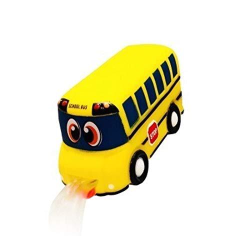 Trihedral-X Lindo extensor de grifo duradero de dibujos animados para niños pequeños fregadero mango bebé baño grifo extensor niños cangrejo lavado de manos herramienta (color: bus)