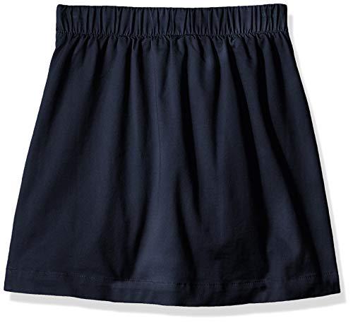 Amazon Essentials - Falda pantalón de uniforme para niña, Azul marino, US L (EU 134-140 CM, P)