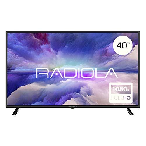 Radiola LD42100K - Televisor Led 40' Full HD (1920 x 1080P, 3X HDMI, VGA, 2X USB, PVR/Timeshift) Color Negro