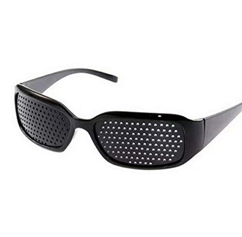 Gafas perforadas unisex con agujeros de camuflaje, de policarbonato y antimiopía