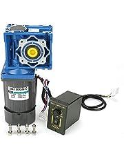 Motor de engranaje helicoidal AC 220V 120W, autoblocante Motor de engranaje CW/CCW ajustable con controlador de velocidad(80K)