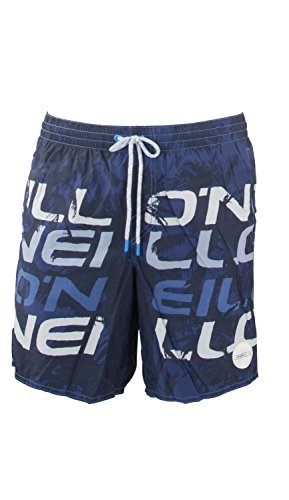 O'NEILL Stack Shorts Boardshort Homme, Blue AOP, FR (Taille Fabricant : XL)