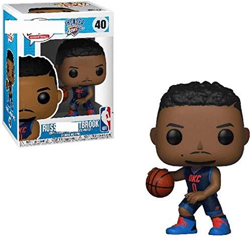 WSWJ NBA: Oklahoma City Thunder - Russell Westbrook da Collezione in Vinile Figura 10 Centimetri