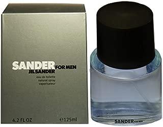 Sander By Jil Sander For Men. Eau De Toilette Spray 4.2 Ounces