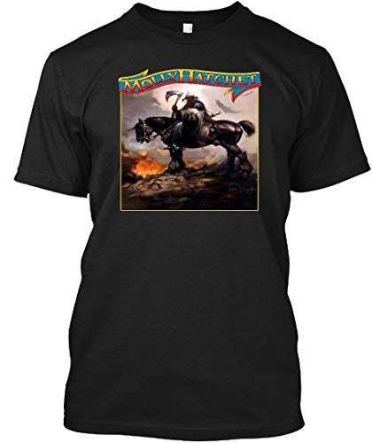 Molly Hatchet Debut LP Tribute 4 Tee|T-Shirt Black