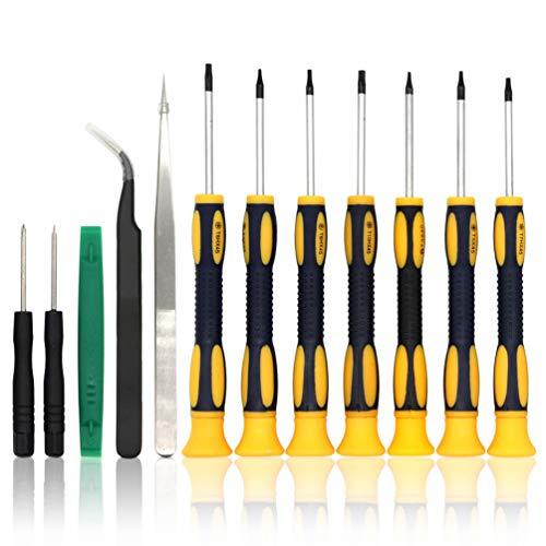 Tool Repair Kit Precision Screw Driver Set Torx + Flat Head + Safe Plying Prying Pry Tool for Motorola Verizon Sprint ATT Cingular Razor and More