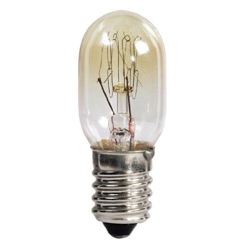 HAMA Lampadina per forno 25 W, 300°, E14, a pera, Colore Trasparente