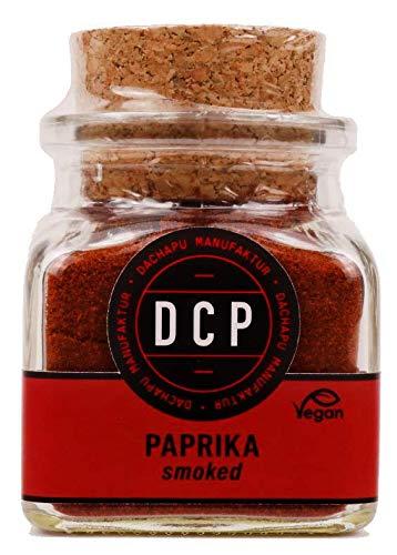 DACHAPU Manufaktur - Paprika (süß) geräuchert smoked (kalt geräuchert) [50g] im Korkglas