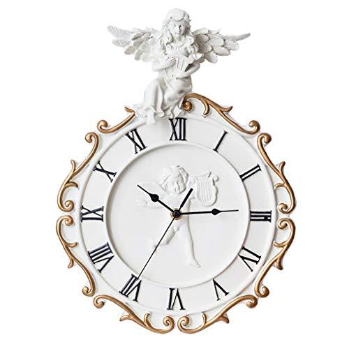 Gymqian Reloj Creativo Moda Mute Pared Moderno Minimalista Sala de Estar Dormitorio Casa Cuarzo Regalos para damas
