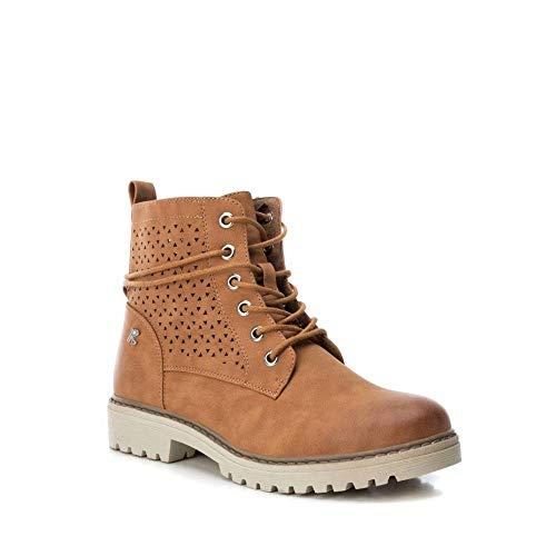 REFRESH ,  Damen Chelsea Boots, Braun - Leder - Größe: 37 EU