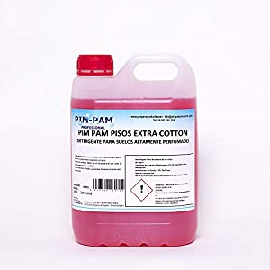Pisos Extra Cotton: Detergente para Suelos y Superficies muy Perfumado 5L