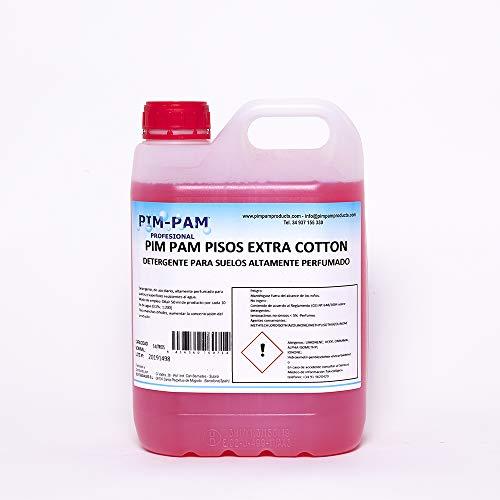 EXTRA COTTON: Détergent pour tous les types de sols très parfumé 5L