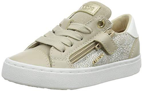 Geox Baby J Kilwi Girl B Sneakers voor meisjes, beige, 26 EU